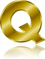 gold-letter-Q