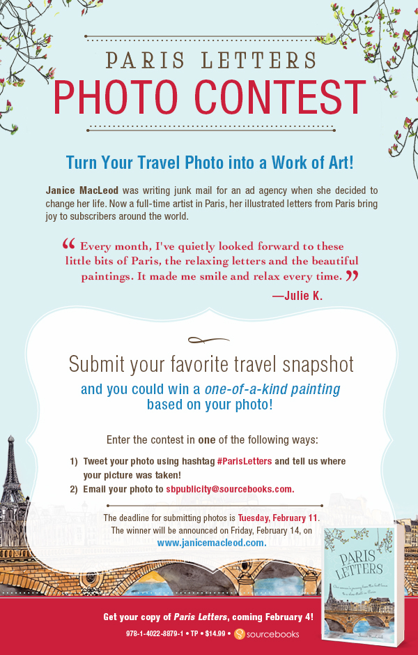 Paris Letters_Photo Contest