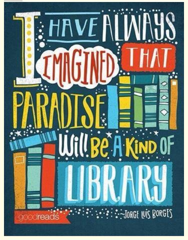heaven is a library