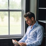 man reading 1