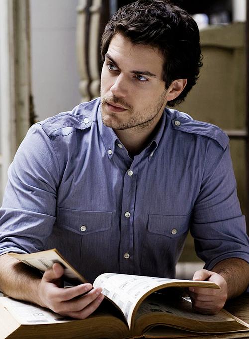 man reading 13