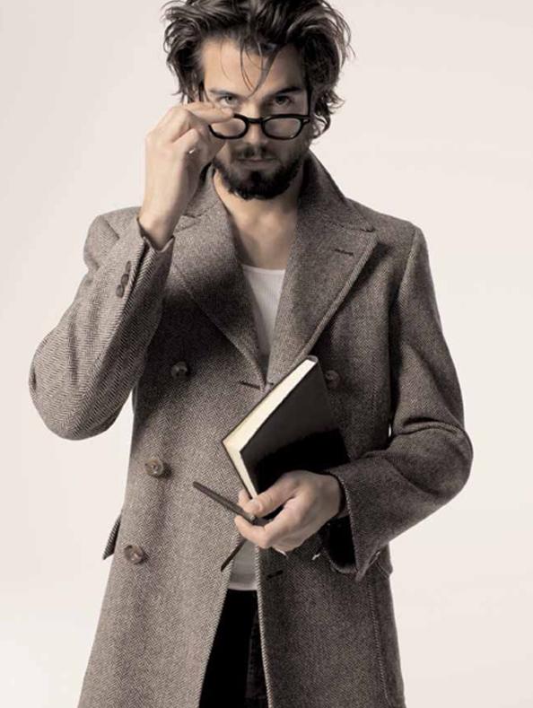 man reading 15