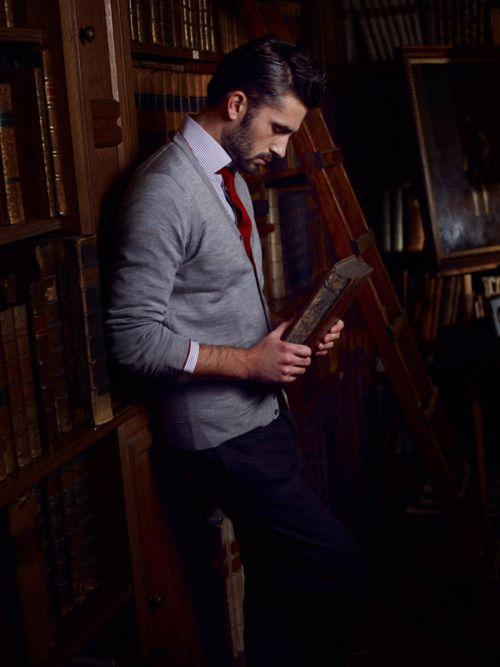 man reading 7
